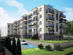 1 комнатная квартира 12,3 км до Варшавы пригород г. Зомбки