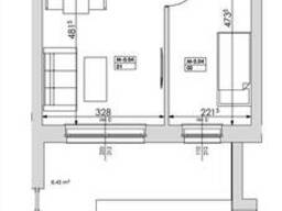 2-комнатная квартира в Познани