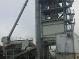 Б/У Стационарный асфальтный завод Ammann 200 т/ч 2007 г. в.