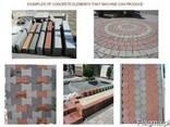 Стационарная блок-линия для тротуарной плитки R-1500 Швеция - фото 7