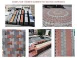 Блок-машина для производства тротуарной плитки R-500 Эконом - фото 6