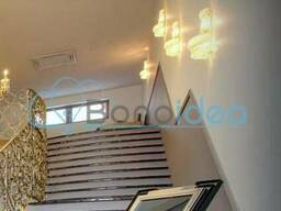Светильник, бра хрустальный золотой 45 см