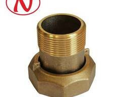 "Brass water meter coupling set - 1/2"" /С"