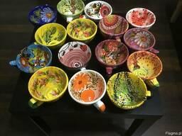 Чашки- пиалы ручной работы