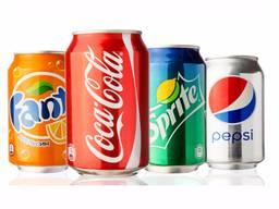 Coca Cola , Fanta , Sprite , Pepsi 330ml