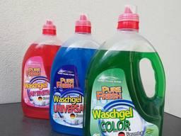 Gel Laundry Detergent Pure Fresh, own production, wholesale