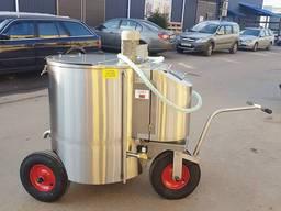 DAIRY TAXI 250 litrów z napędem elektrycznym z dozowaniem