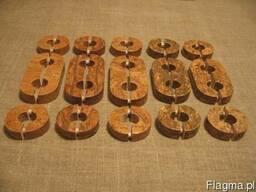 Декоративные накладки на трубы с пробковым шпоном