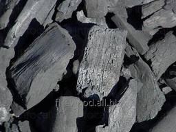 Древесный уголь FSC твердых пород древесины