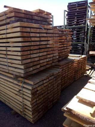 Edge-surfaced lumber, conifer (pine)
