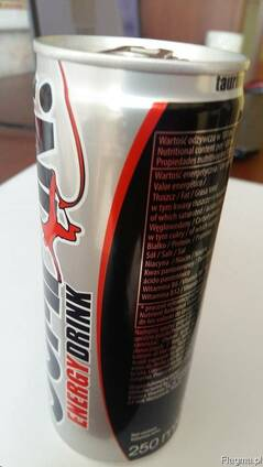 Энергетический напиток / Energy drink 250м собственный бренд