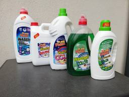 Color Gel Laundry Detergent Pure Fresh, own production