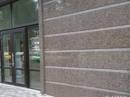 Гранитная плитка для фасада, ступеней, подоконников, столешниц, Украина
