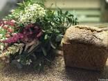 Хлеб с пророщенной пшеницы без дрожжей и муки - фото 1