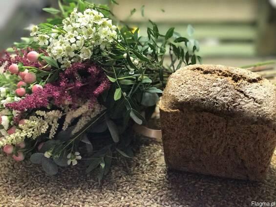 Хлеб с пророщенной пшеницы без дрожжей и муки