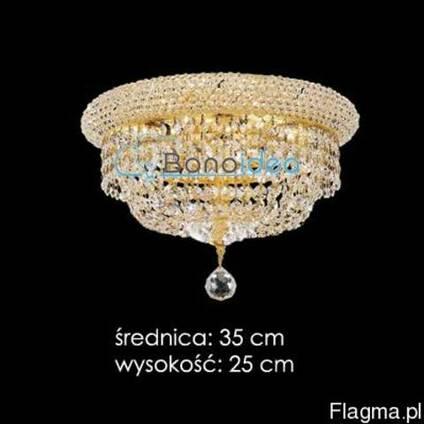 Хрустальный плафон Ronald диаметр 35 см