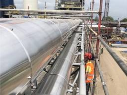 Izolacja termiczna zbiorników, baków, rezerwuarów wykorzystywanych do produkcji, transport