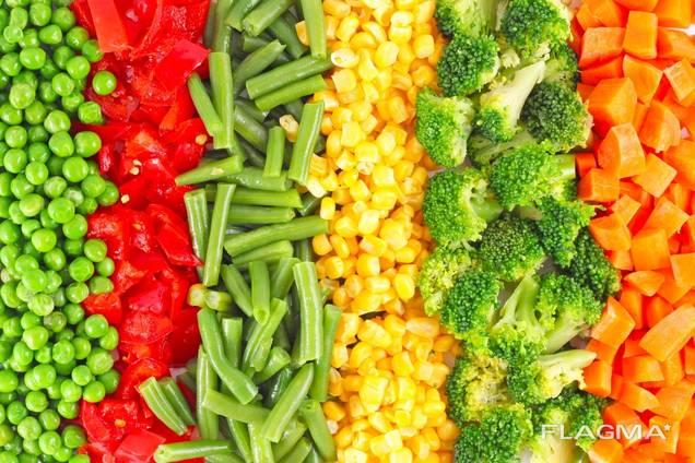 Куплю овощи замороженные.
