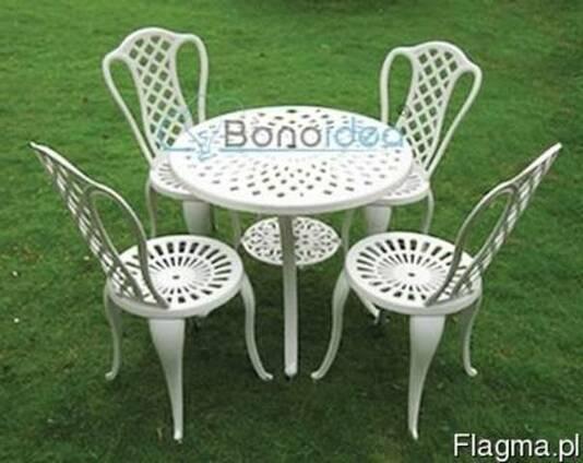 Мебель для сада и террасы алюминиевая набор 4 1