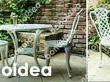 Мебель для сада и террасы алюминиевая набор 4 1 - фото 3
