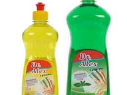 Моющее средство. Средство для посуды Dr. Alex 0, 5л 1л