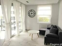 Новая светлая двухкомнатная квартира в Кракове