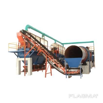 Оборудование для переработки помета, навоза, опилок и пищевых отходов с гранулированием