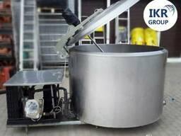 Охладитель молока Б/У ALFA LAVAL 800 литров открытого типа