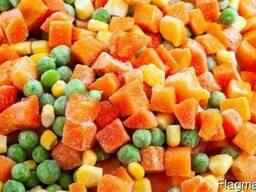 Овощи, фрукты, ягоды замороженные