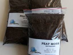 Peat moss neutralized