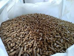 Продам древесную гранулу 6-8мм, из сосны