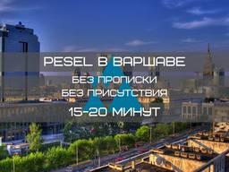 PESEL (без прописки / мельдунка) в Варшаве за 15 минут!