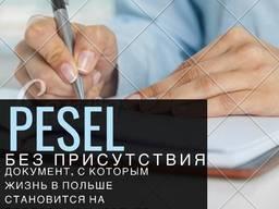 Pesel (Meldunek) без присутствия