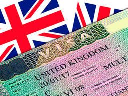 Английская виза. Подача в Польше по красной печати или карте побыта