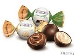 Шоколадные пралиновые конфеты