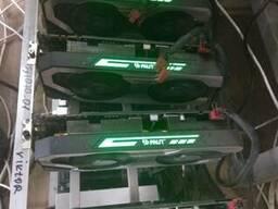 Продам ферму 6 карт GeForce GTX 1060 6GB 6077 MiB MSI 4Gb