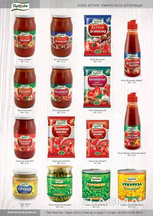 Томатная паста/ Tomato paste. Manufacture of food