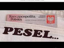 Прописка (meldunek) пэсэль (PESEL)