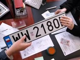 Регистрация автомобиля Варшава