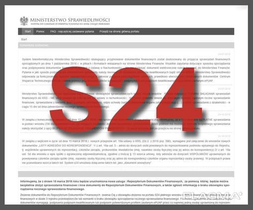 Регистрация фирмы в Польше за 24 часа! (без личного присутствия)