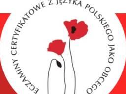 Регистрация на экзамен сертификат польского языка B1