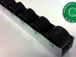 Listwa / szyna rolkowa typ 100 z podziałką 33mm regały przepływowe grawitacyjne na wymiar