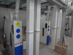 Separator powietrza na ziarno