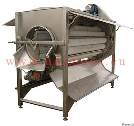 Щеточная машина для очистки овощей и корнеплодов типа Polish