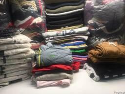 Sprzedajemy odzież używaną z Anglii Sortowana, Kategoria A.