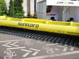 "Sunflower header ""Sunfloro Optimo"" 4,7 м; 6м; 7,4м; 9,2м"