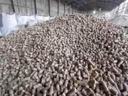 Топливные древесные гранулы (пеллеты).