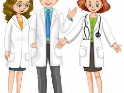 Вакансии для врачей и медсестер.