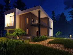 Wizualizacja architektoniczna i animacja