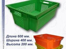 Ящики пластиковые 600 400 200